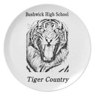BHS Tiger Country Coaster Melamine Plate