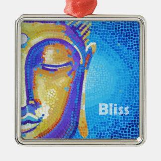 Bhudda Bliss Painting Christmas Tree Ornaments