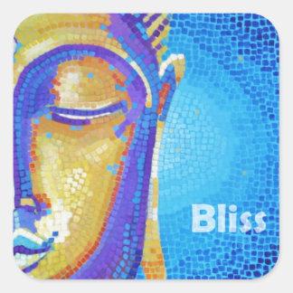 Bhudda Bliss Painting Sticker