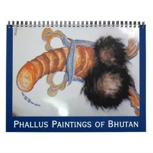 bhutan art calendar