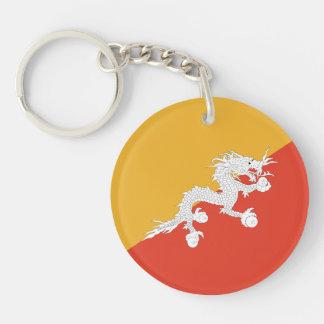 Bhutan - Bhutanese Flag Keychain