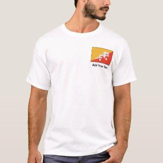 Bhutan - Bhutanese Flag T-Shirt