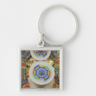 Bhutan. Ceremonial cakes made by monks adorn the Keychain