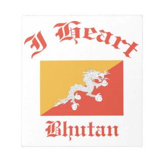 Bhutan design scratch pads