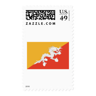Bhutan dragon stamp