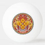bhutan emblem Ping-Pong ball