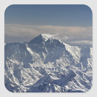 BHUTAN. Eternal snow on the Everest Mountain, Sticker