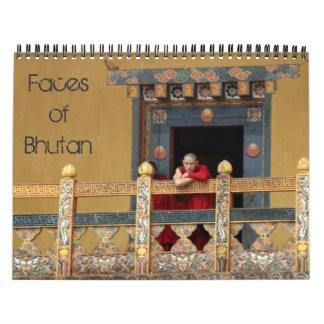 bhutan faces calendar