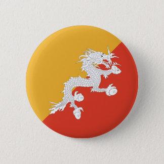 Bhutan Fisheye Flag Button