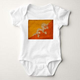 Bhutan Flag Baby Bodysuit