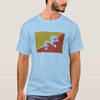 Bhutan FLAG International T-Shirt