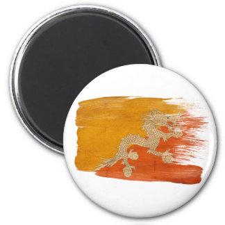 Bhutan Flag Magnets