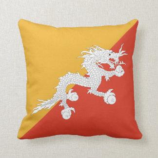 Bhutan Flag pillow