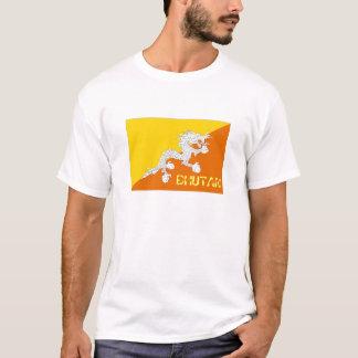 Bhutan flag souvenir t-shirt