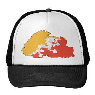 Bhutan map BT Trucker Hat