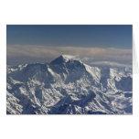 BHUTÁN. Nieve eterna en la montaña de Everest, Tarjeta De Felicitación