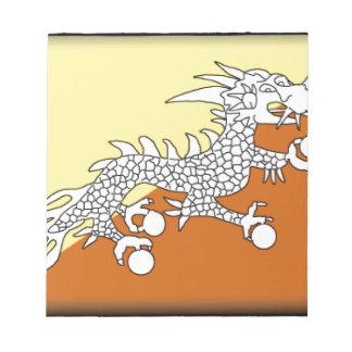Bhutan Memo Pad