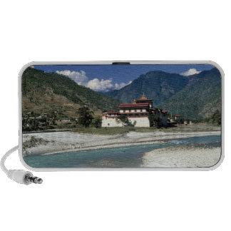 Bhután, Punaka. El río del MES Chhu fluye más allá iPod Altavoz