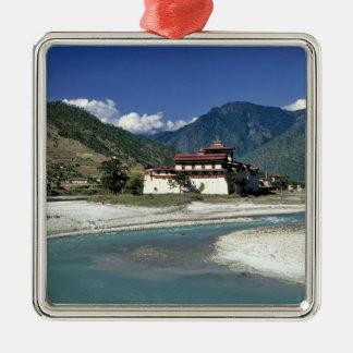 Bhután, Punaka. El río del MES Chhu fluye más allá Ornaments Para Arbol De Navidad