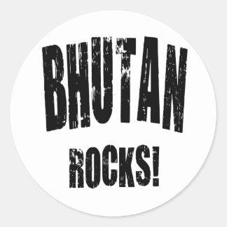 Bhutan Rocks! Stickers