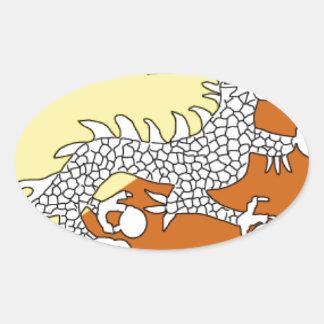 Bhutan Oval Sticker