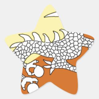 Bhutan Star Sticker