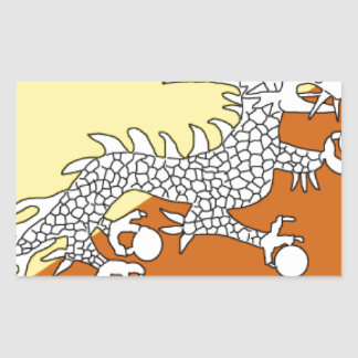 Bhutan Rectangle Stickers