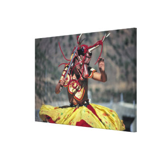 Bhutan, Thimphu. There are a large variety of Canvas Print