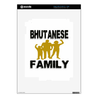 Bhutanese Family Decals For iPad 2