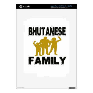 Bhutanese Family Skins For iPad 3