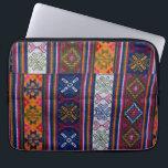 "Bhutanese Textile Laptop Sleeve<br><div class=""desc"">Asia,  Bhutan,  Bumthang. Bhutanese Textile. | Kymri Wilt / DanitaDelimont.com</div>"