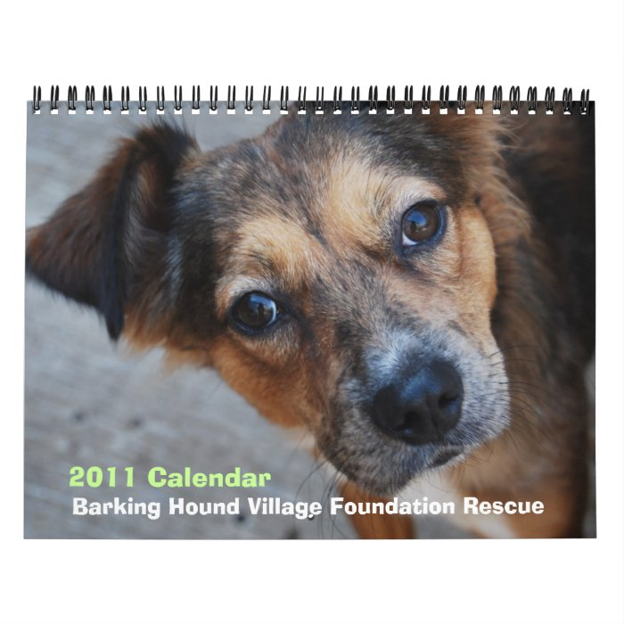 BHVF Rescue 2011 Calendar