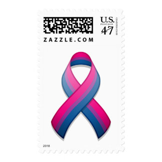 Bi Awareness Ribbon Postage
