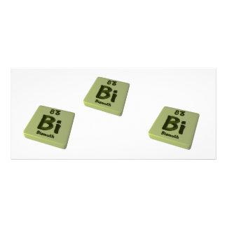 Bi Bismuth Rack Cards