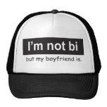 Bi Boyfriend Trucker Trucker Hats