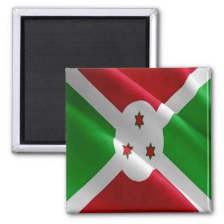 BI - Burundi - Flag Waving Magnet