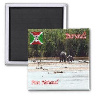 BI - Burundi - Parc national de la Rusizi Magnet