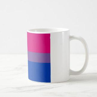 Bi Flag Flies For Bisexual Pride Coffee Mug