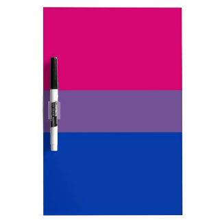 Bi Flag Flies For Bisexual Pride Dry-Erase Board