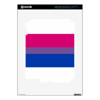 Bi Flag Flies For Bisexual Pride iPad 3 Skin