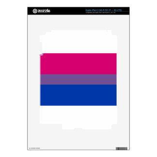 Bi Flag Flies For Bisexual Pride iPad 3 Skin