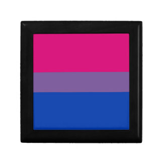 Bi Flag Flies For Bisexual Pride Jewelry Box