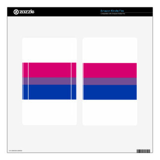 Bi Flag Flies For Bisexual Pride Kindle Fire Skin