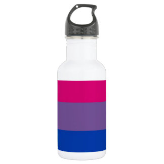 Bi Flag Flies For Bisexual Pride Stainless Steel Water Bottle