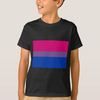 Bi Flag Flies For Bisexual Pride T-Shirt