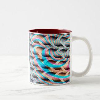 Bi Focal Two-Tone Coffee Mug