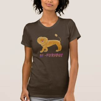 Bi-Furious Lion Shirt