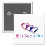 Bi is Beautiful Button