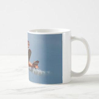 Bi-plane aerobatics wing walker coffee mug