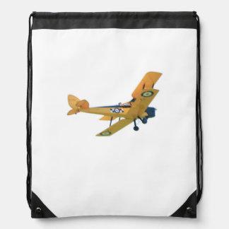 Bi-Plane, Airplane on Backpack